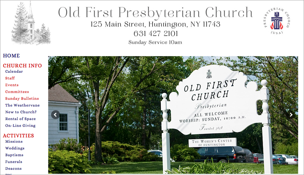 Old First Presbyterian Church Huntington