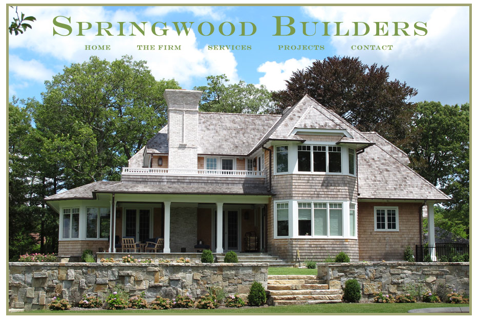Springwood Builders - Website Design