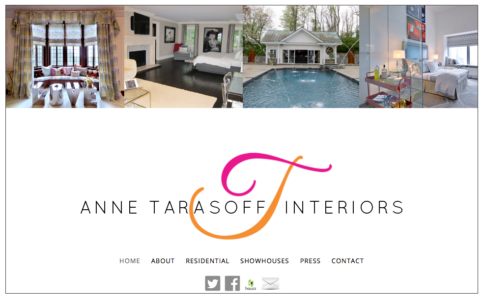 Tarasoff Interiors - Website Design