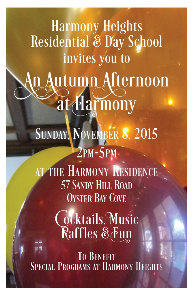 Harmony Heights - Event Invitation