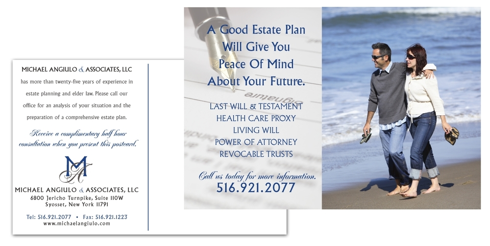 Stefans Law Group - Postcard Design