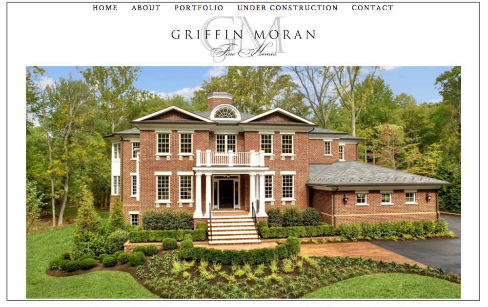 Griffin Moran Builders - Website Design