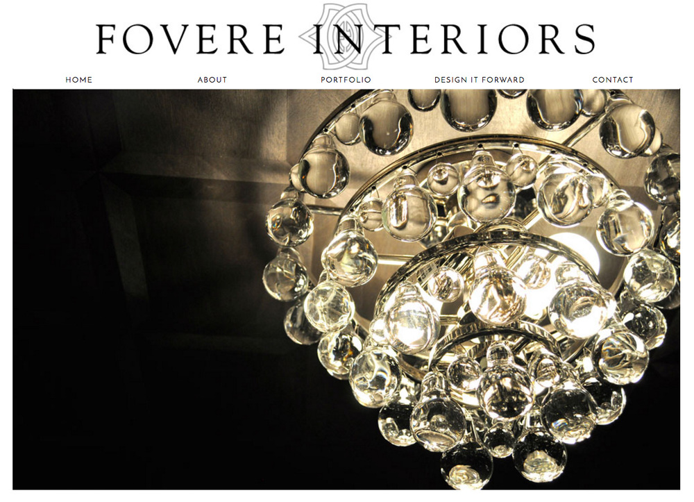 Fovere Interiors - Website Design