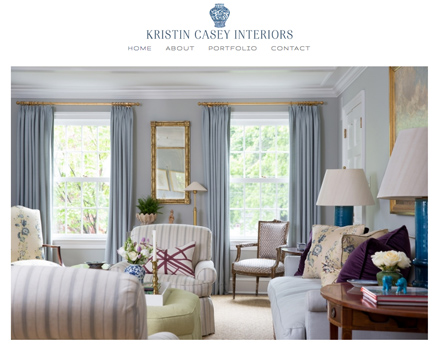 Kristin Casey Interiors - Website Design