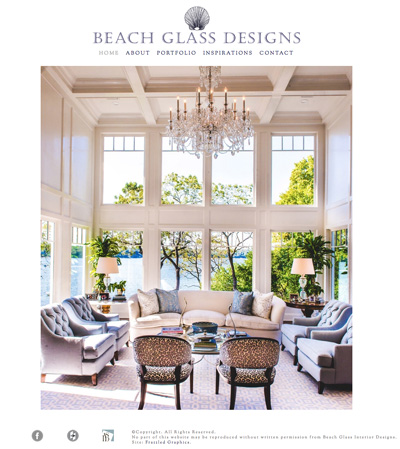 Beach Glass Designs - Website Design