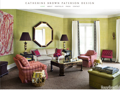 Catherine Brown Paterson Designs - Website Design