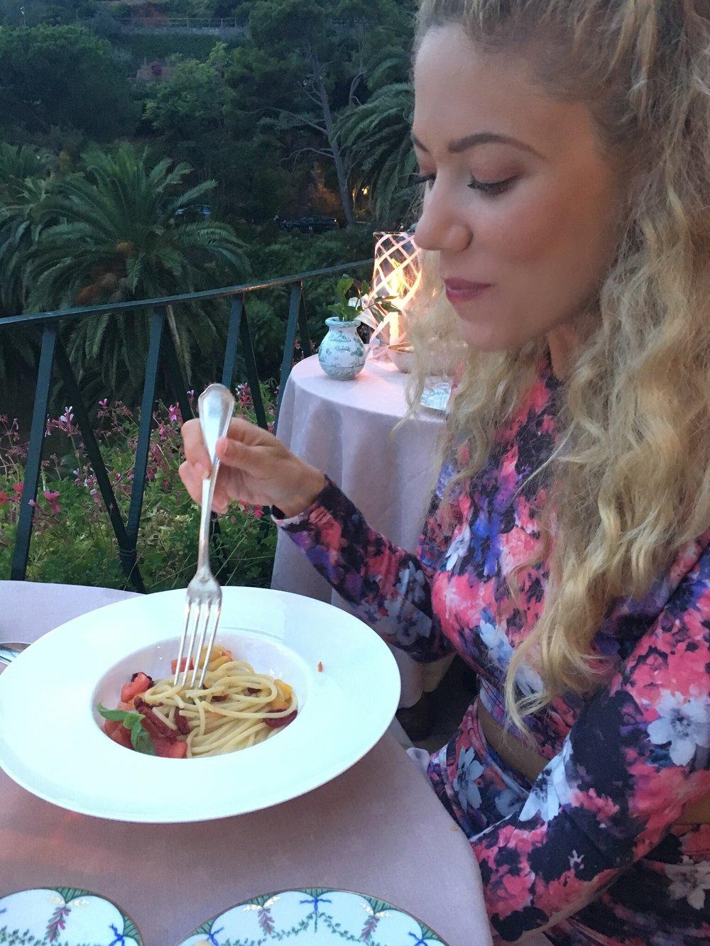 Italian Pasta in Portofino