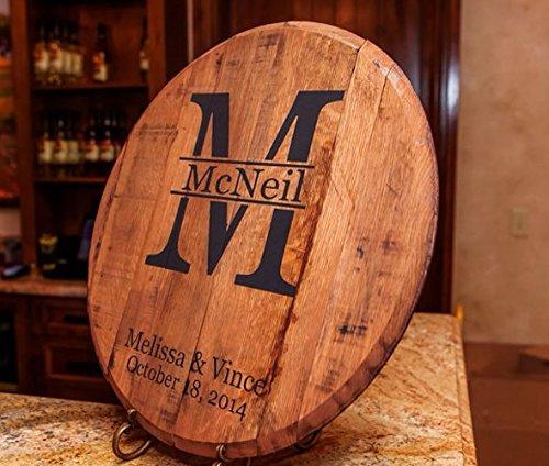 Bourbon Barrel Head