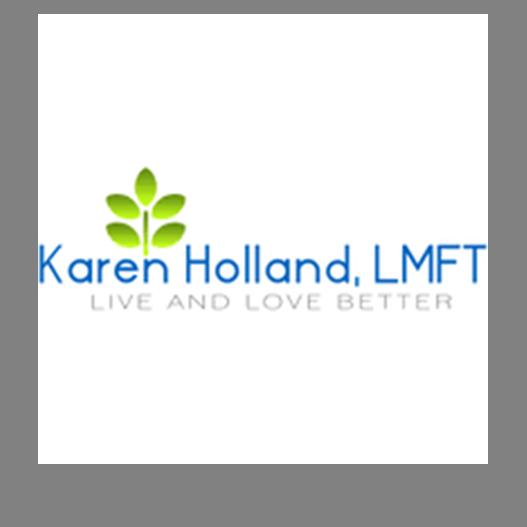 Karen Holland   (720) 432-4409   karenhollandcounseling.com   4155 East Jewell Ave, Ste. 703 Denver, CO 80222