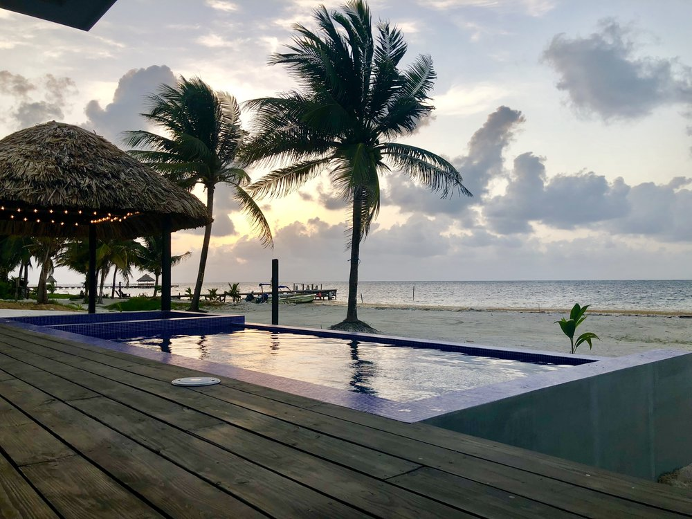 Third Coast Belize Sunrise Pool ViewBelize Vacation Rental.jpg