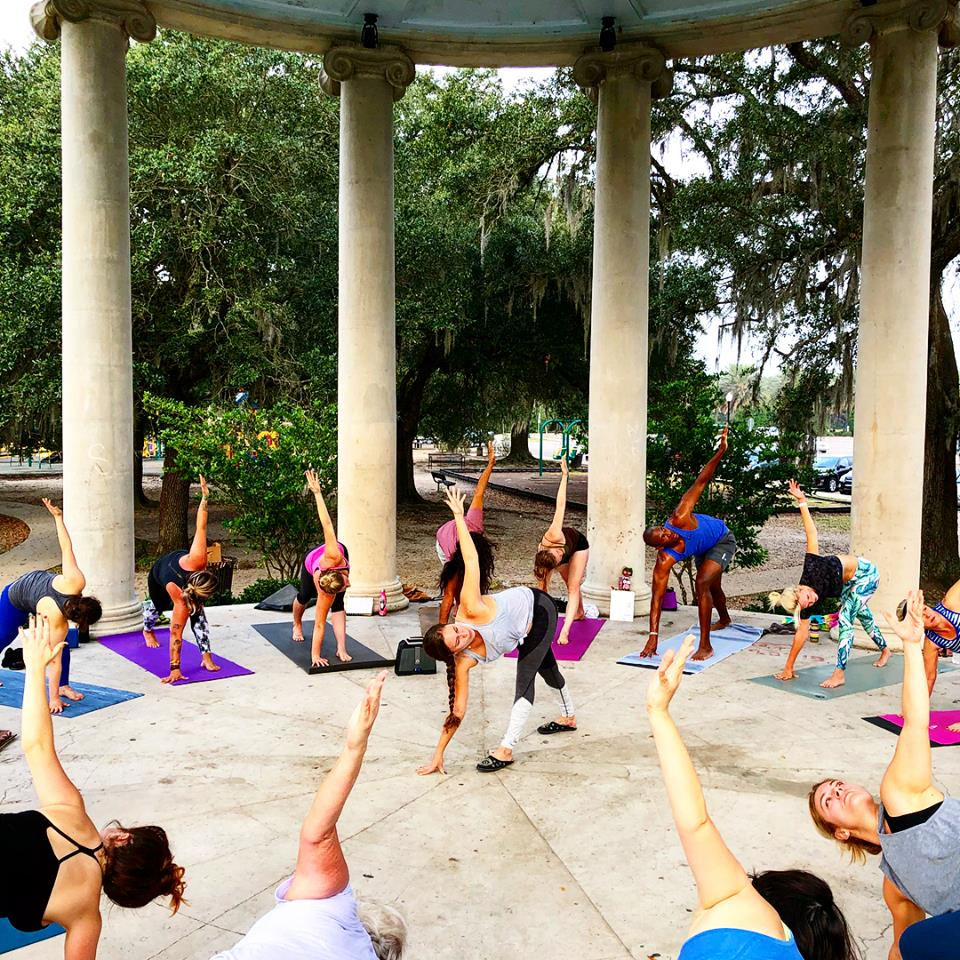 Sunrise Yoga - Mon/Tues/Weds, 6:30am,Donation-Based via Cash or VenmoClass Pass Accepted!Join us for donation-based Sunrise Yoga three days of the week!Tuesdays 6:30am, Coliseum Square ParkWednesdays 6:30am, Morning Call, City ParkThursdays 6:30am, Lakefront