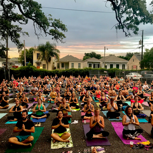 Tribe Yoga - Wednesdays, 6:30pm$5 via cash, card OREventbrite Tickets:HEREOptional 5k Warm Up Run: 5:35pmNOLA Tribe Yoga brings our funkiest flows and pumped up playlists to The Tchoup Yard's badass yoga yard!Come sweat for your drinks and work for your Karibu Kitchen… or as we like to put it… DETOX to RETOX. No RSVP Required.