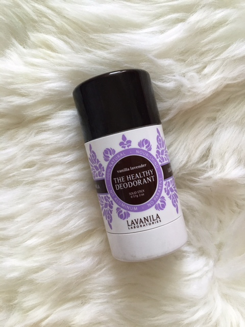 I've been on a mission to find a good deodorant that does not include aluminum in their ingredients. This Lavanila one smells really good and glides on smooth. I will say though, it doesn't do great with the sweat but everything else I was really happy about.