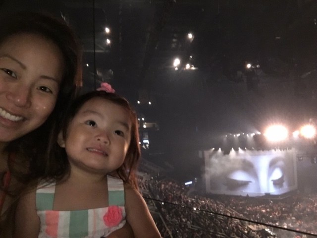 Back in August, when Daddy surprised us girls with tickets to Adele!