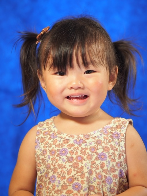 My name is Halie, I am 2 years old, and I love school!