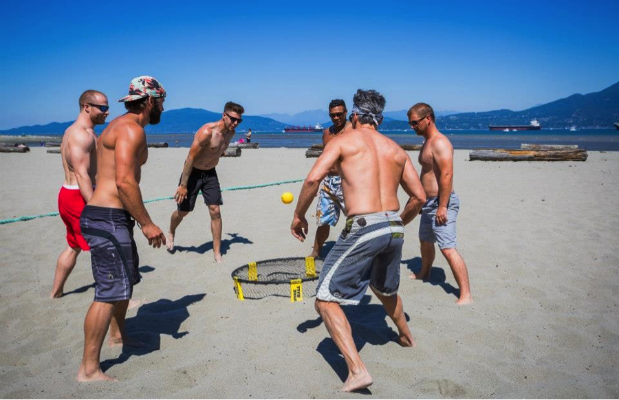 Ever tried Spike Ball?