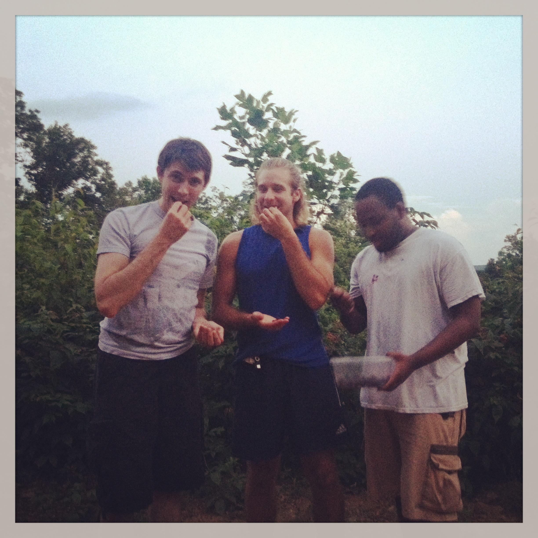 Jonathan, Brennen and Aaron