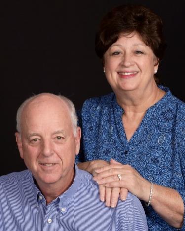 Bob Baucum and his wife Jan