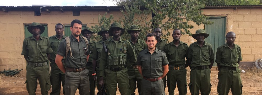The Global Conservation Force out in the field.