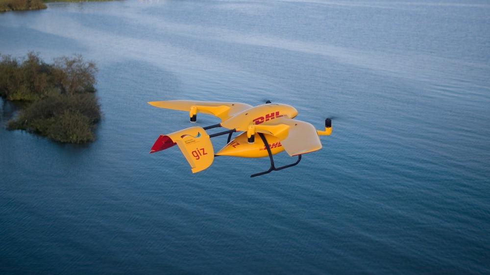 Over Lake Victoria - Photo: DHL