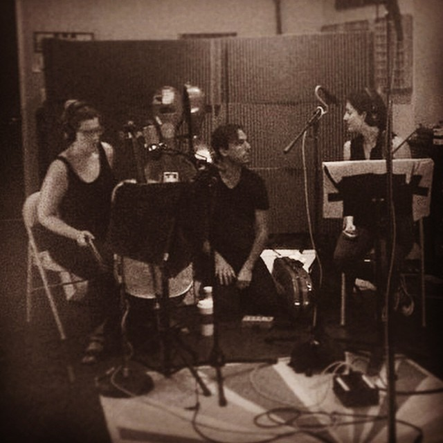 Coaches meeting with the lovely @kylianesque and @emilyhopeprice #stringsession for @ladylambjams