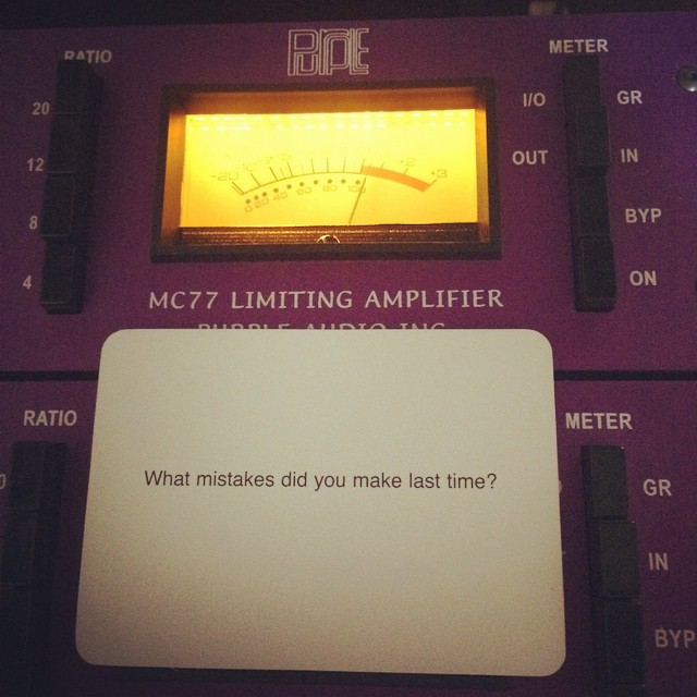 #obliquestrategies with @ladylambjams #ladylambsecondrecord