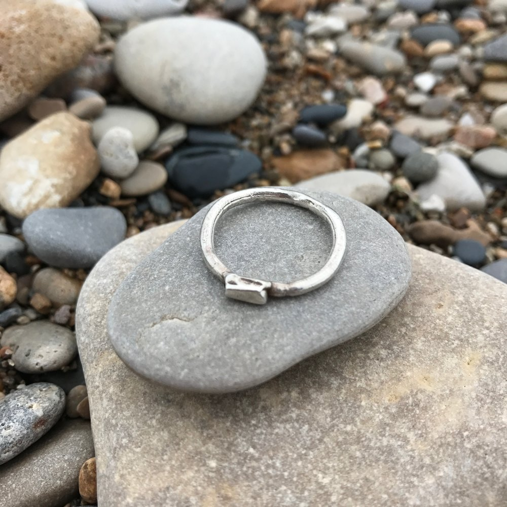 Casted Sterling Silver ring