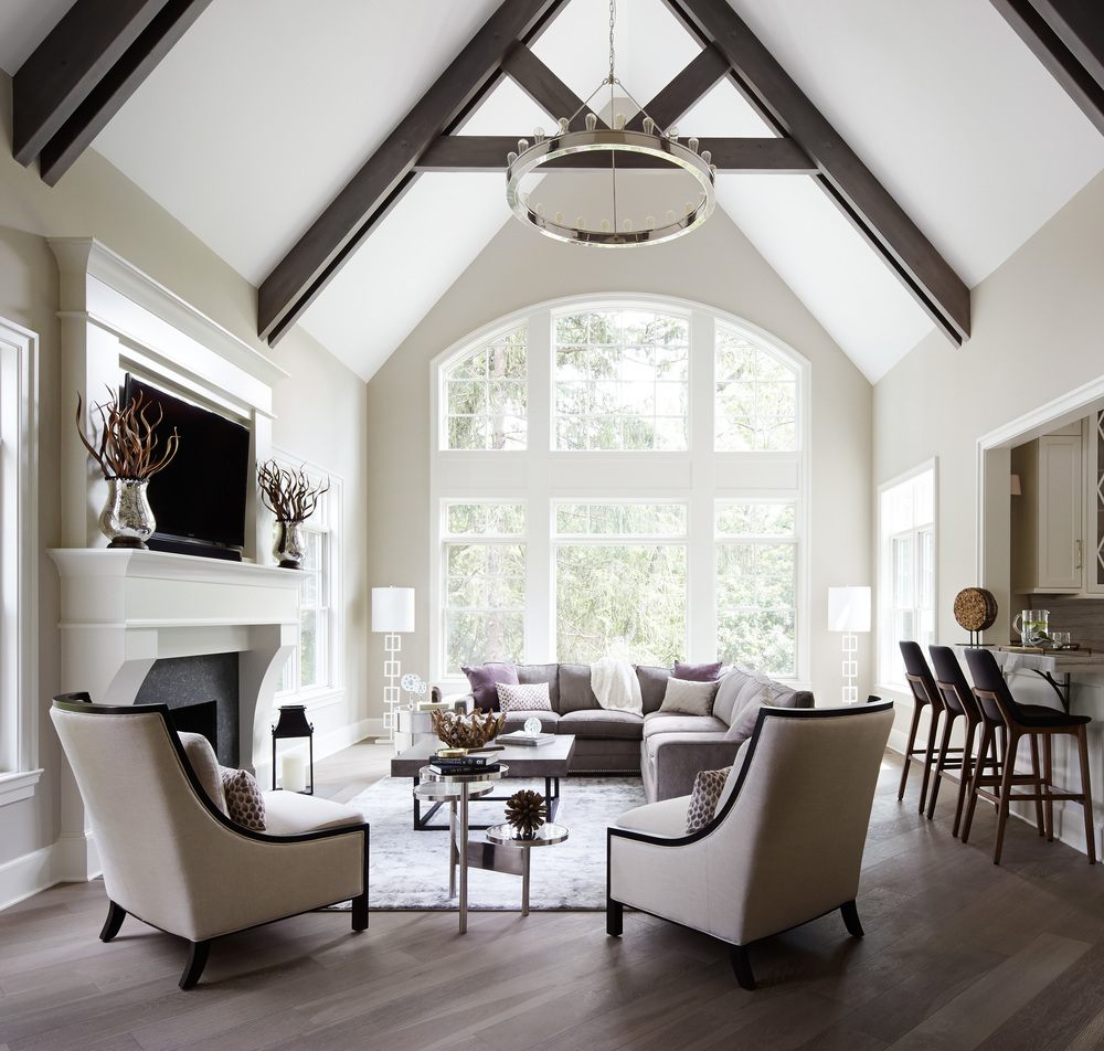 builder's home: transitional new construction — donna mondi