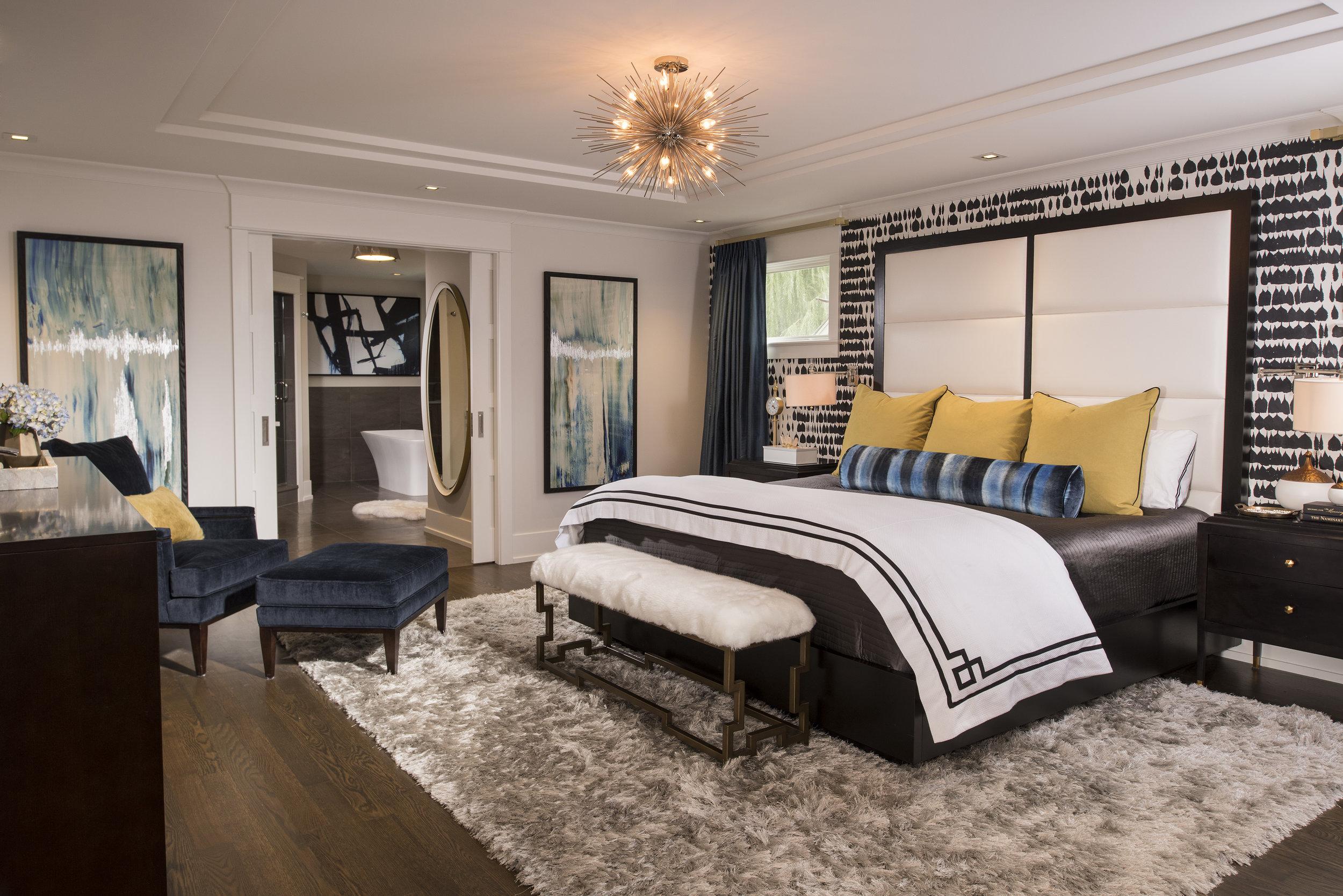 Modern Glam Master Suite Remodel — Donna Mondi Interior Design