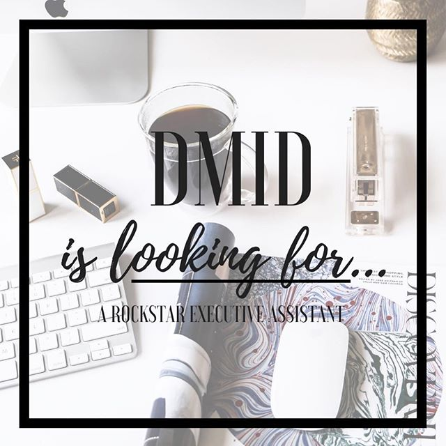 ATTENTION: We are looking for an Executive Assistant to join our DMID family! We cannot wait to meet someone exceptional for this position. If you have 5+ years of experience please send your resume to charli@dmondiinteriordesign.com #DMID #joinourteam #interiordesign #chicago