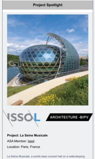 newsletter events architectural solar association