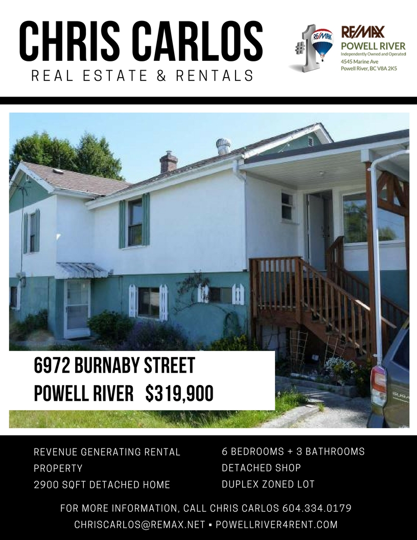 Burnaby Street Powell River Realty