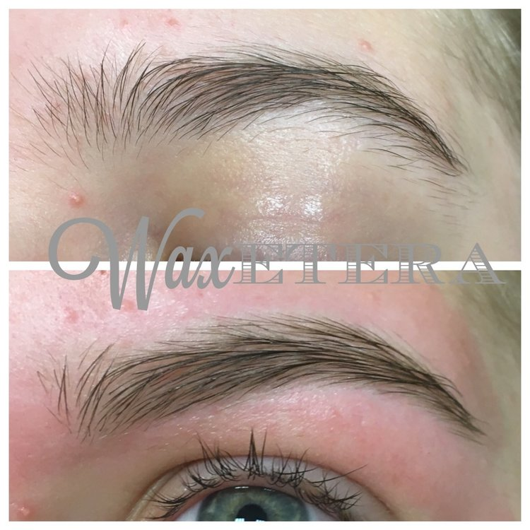Before And After Eyebrow Wax Waxetera