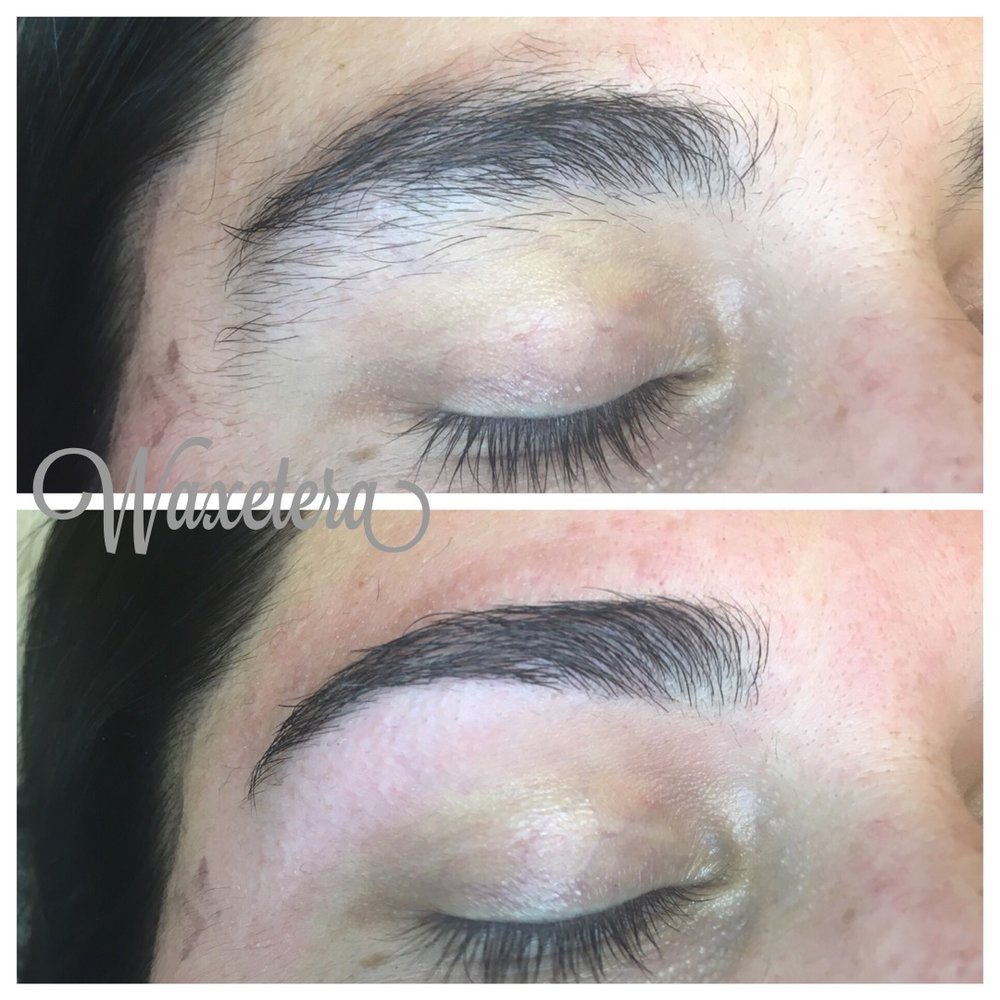 eyebrow makeover