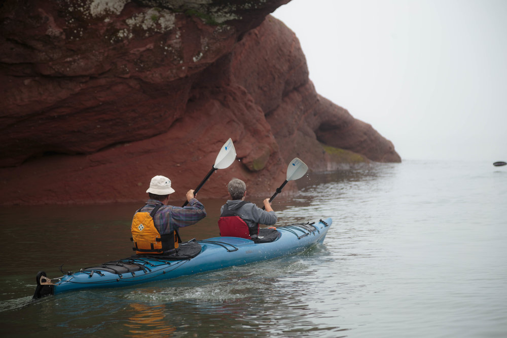 KAYAK THE ST. MARTINS SEA CAVES -