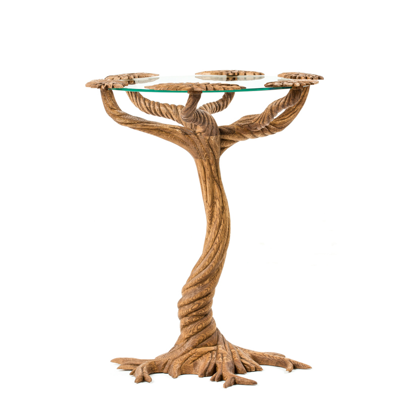 Tree Table II, white oak, 2016
