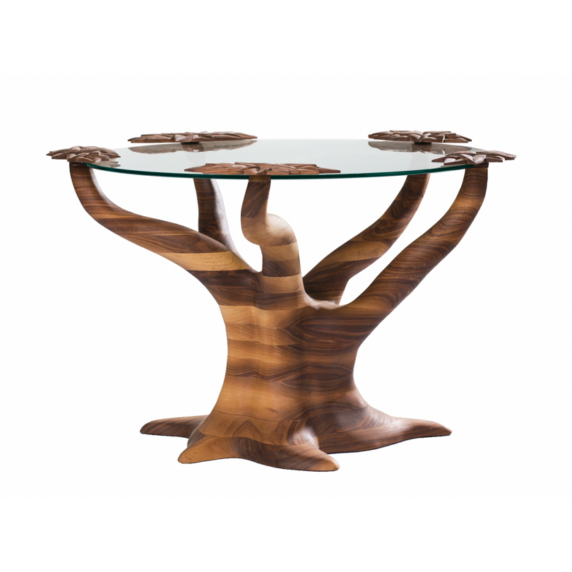 Tree Table V, black walnut, 2016