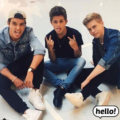 Dylan, Aidan, Gabriel
