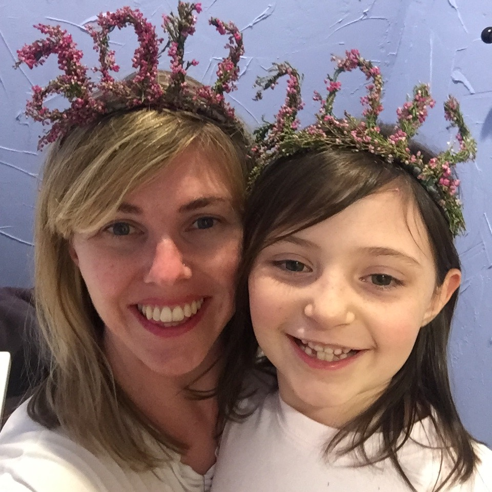 My best gal pal bought crowns for all the girls in her fam. They had the best time!! So much fun they only captured one pic - but it's perfection!