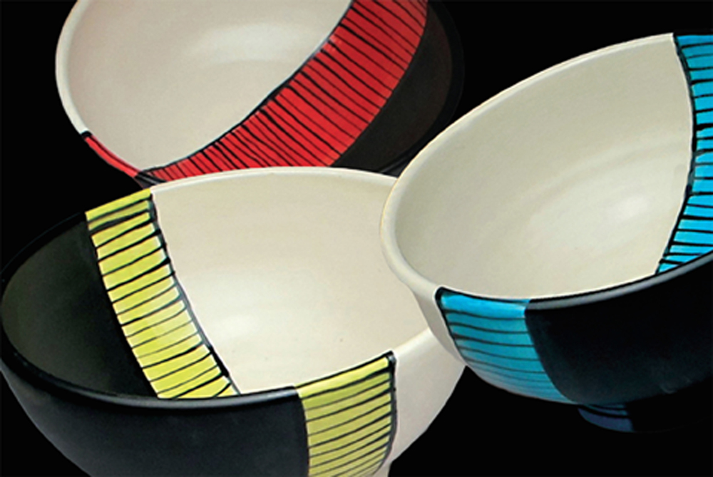 Band of Color bowls