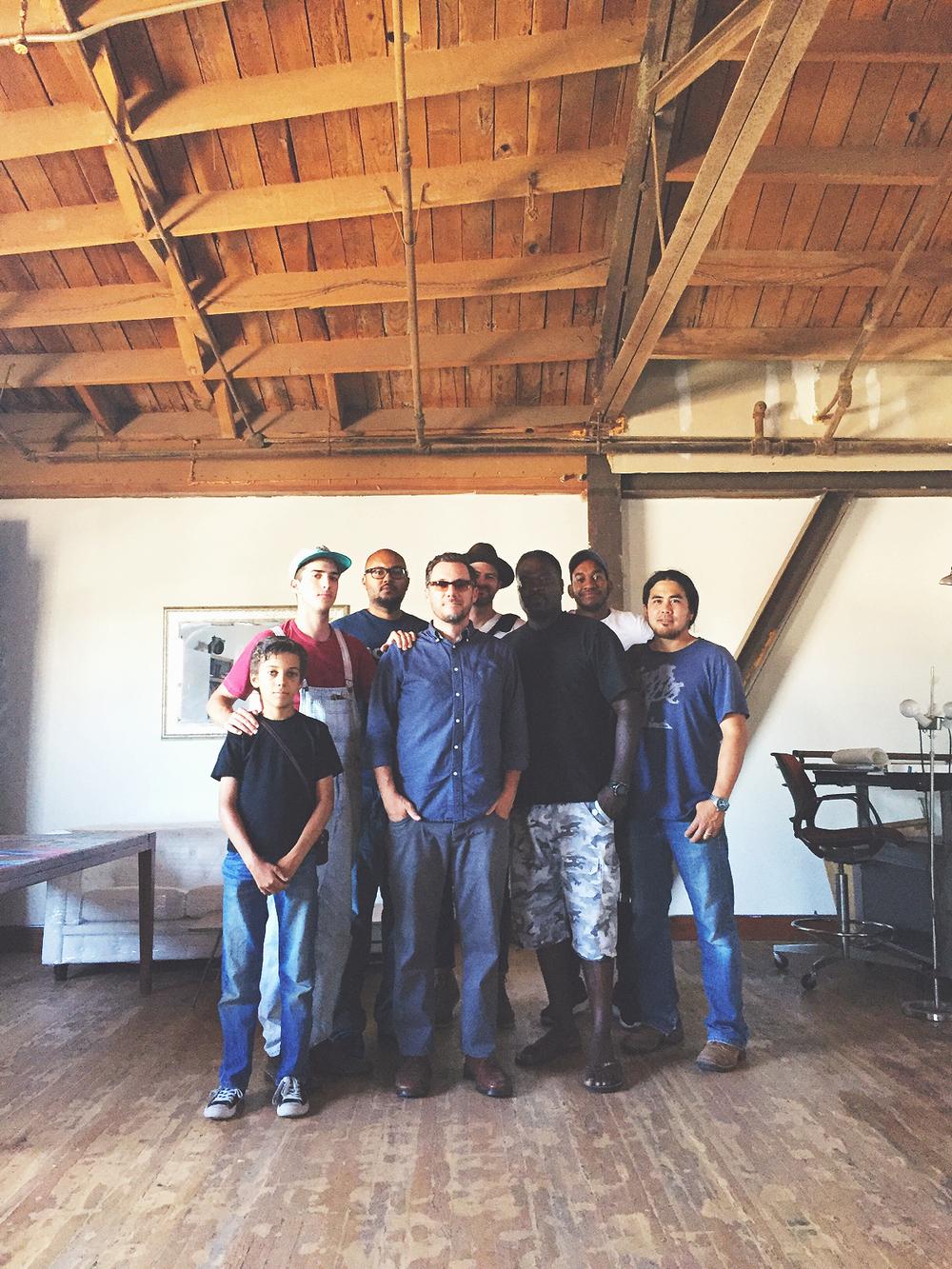 L.A. Workshop Crew