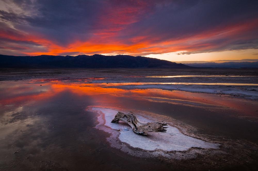Fire over the Salt Flats