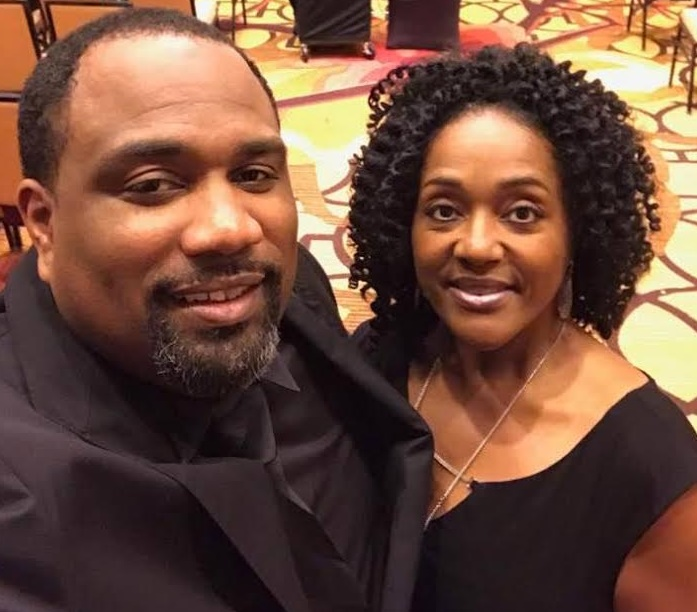 Three-Star Director Phillip Rollins and One-Star Director Anastasia Winston at the Baton Rouge Super Sunday