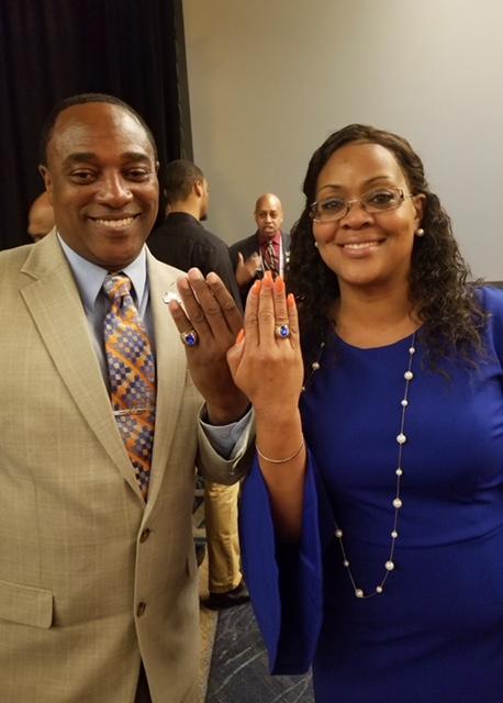 Bernard & Cynthia Hampton - Sapphire Rings