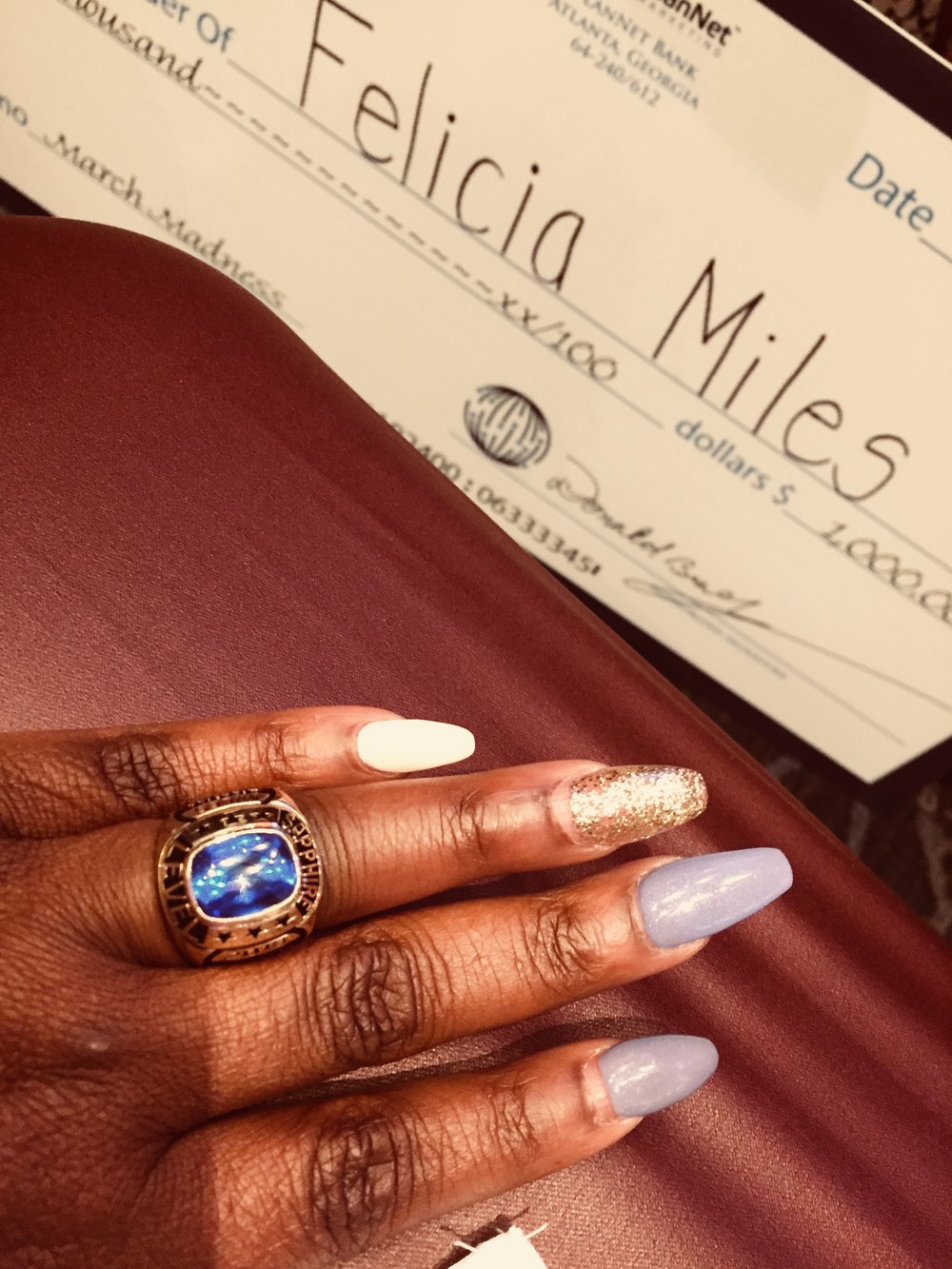 Felicia Miles - Sapphire Ring
