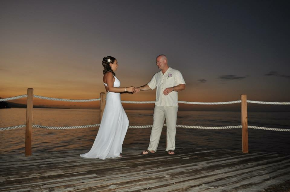 Our wedding in Jamaica