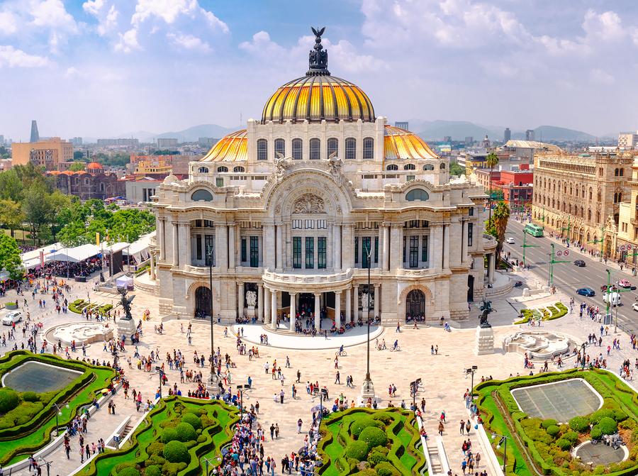 Palace of Fine Arts - Mexico City