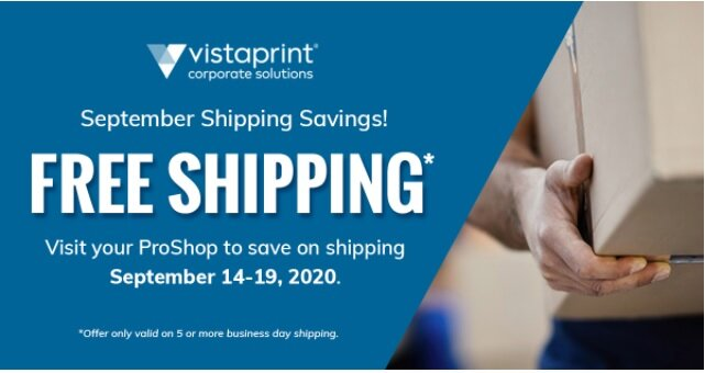 Free Shipping From Vistaprint Plannetnow