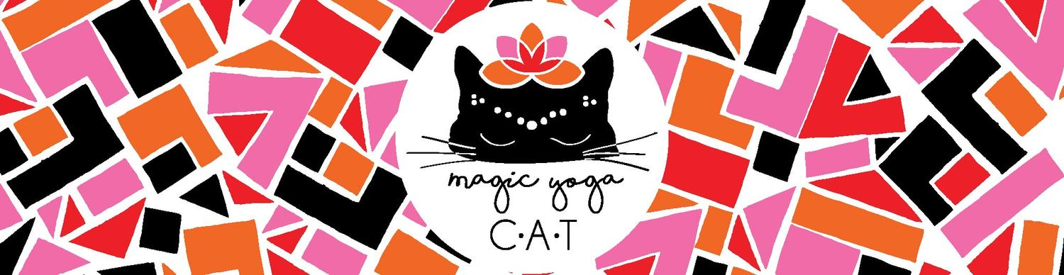 Magic Yoga Cat