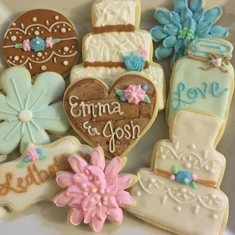 Wedding Cookies — Daddy\'s Girls Cookie Company